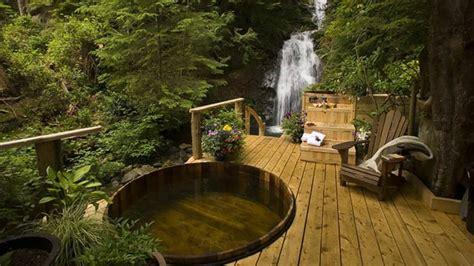 jacuzzi para terrazas #1: jacuzzi-jardines-madera-bosque.jpg