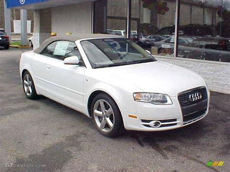 audi convertible 2008 2008 ibis white audi a4 3 2 quattro cabriolet 7790501