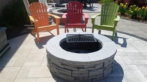 Outdoor Pit Ring Kits by Ma Outdoor Fireplaces Pit Backyard Kits