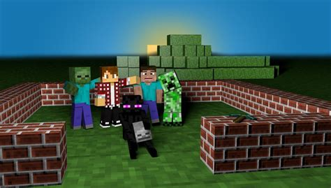 wallpaper craft for pc minecraft pc wallpapers wallpaper cave