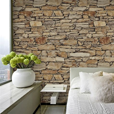 stone home decor 2016 3d stone wallpaper waterproof coffee wall paper