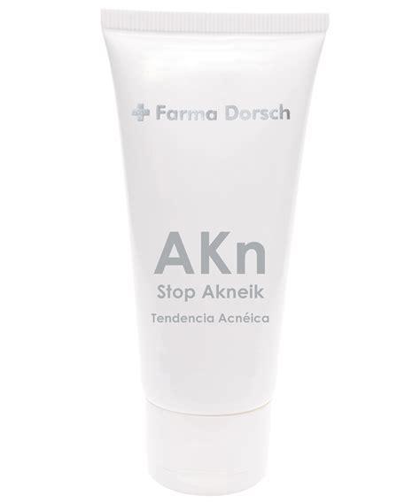 Farma Acne Stop Akneik De Farma Dorsch Tratamientos Para Combatir