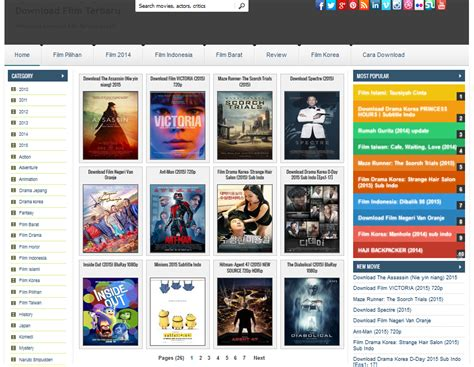 blogger templates for movie site hot 5 movie templates for blogger uc templates