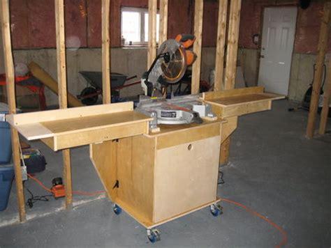 Construire Un Garage En Bois 2191 by Projet Servante Pivotante Rabot D 233 Gau Scie 224 Onglet