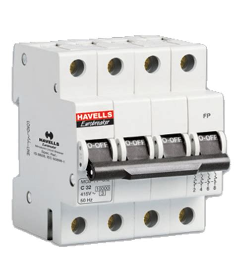 Switch Listrik buy havells 63a fp mcb changeover at low price in india snapdeal