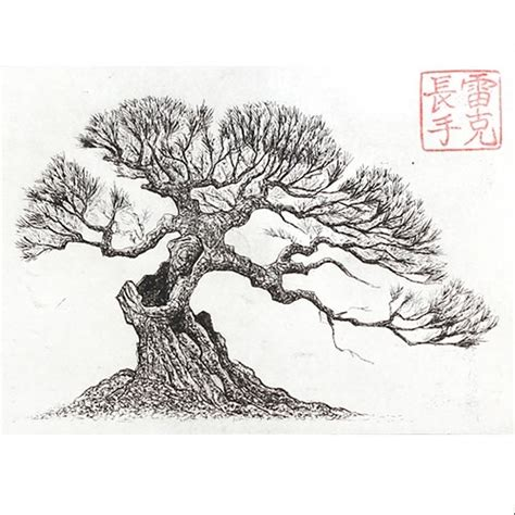 66 best images about bonsai drawing on bonsai trees tree drawings and dibujo bonsai print drawing