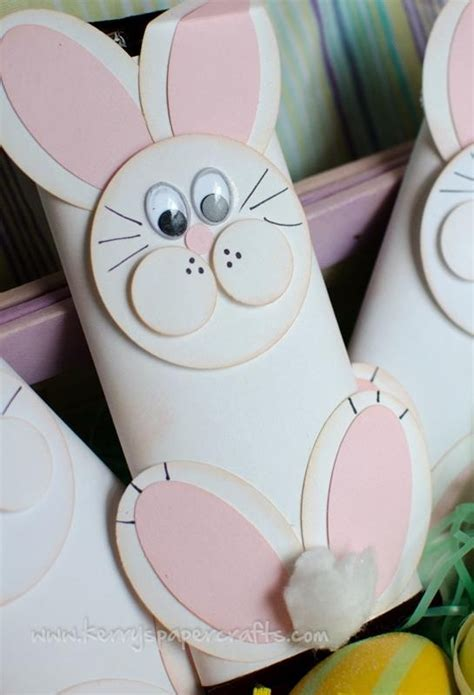 Easter Craft Toilet Paper Roll - easter bunny craft with toilet paper roll toilet