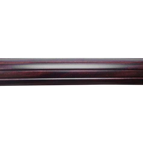 martha stewart living 8 ft reeded 1 13 16 in wood pole