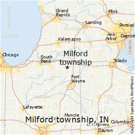 A Place Milford Indiana Best Places To Live In Milford Township Indiana