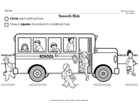 School Safety Worksheets by 18 Best Wheels On The Activities For The Classroom
