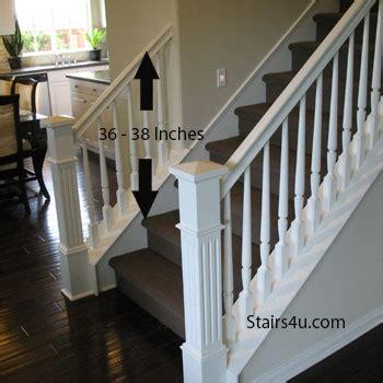 Banister Guards by Gripable Stair Banisters For Guardrail