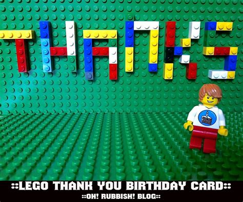 lego thank you card template lego thank you card free lego printables