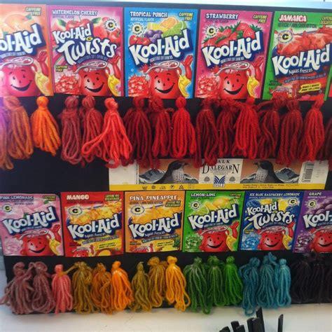 kool aid colors dip dye kool aid recipe brown hairs of kool aid hair