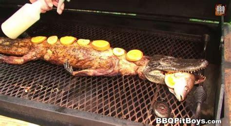 dragon boat grill crawfish stuffed grilled alligator bbq dragon
