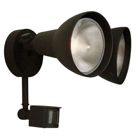 Outdoor Sensor Flood Lights Matte Black Two Light Outdoor Flood Light With Motion Sensor Craftmade Wall Mounted Outd