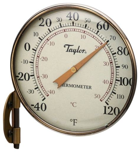 Decorative Outdoor Thermometer by 481bz Metal Thermometer 4 25 Quot Traditional Decorative Thermometers By And