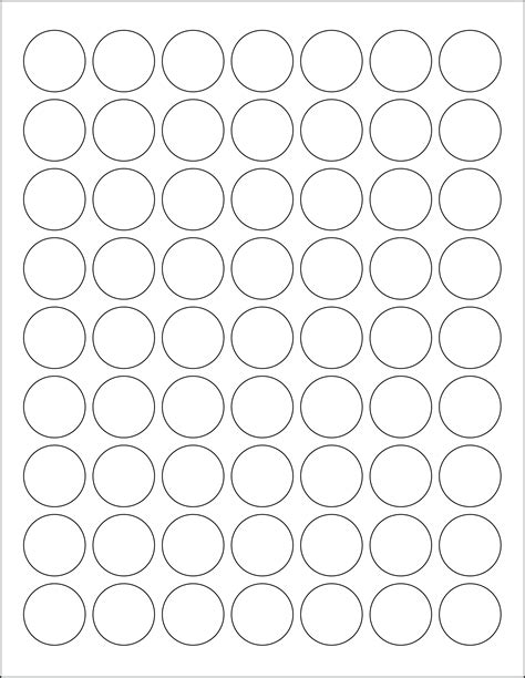 1 Inch Circle Template Free best photos of 1 inch circle template printable 1 inch