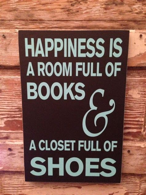 Signs Of A Closeted by Happiness Is A Room Of Books And A Closet Of