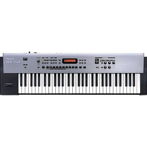 roland rs 50 61 key 64 voice synthesizer musician s friend