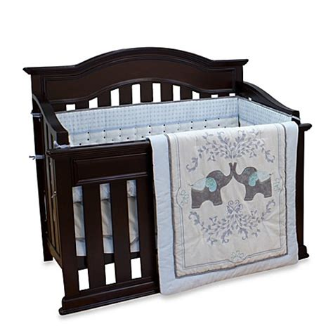 nurture imagination elephant jubilee 5 crib bedding