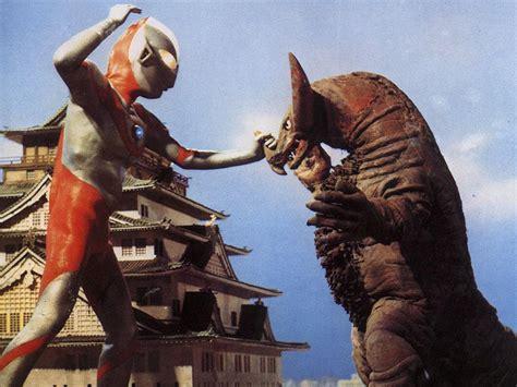film semua ultraman vs semua monster the original ultraman battling the monster gomora in