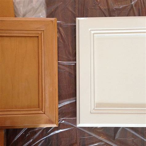 painting wood cabinets white kitchen renovation prepping and painting the cabinets