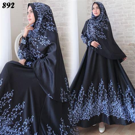 Syari Maxmara gamis syari maxmara bunga c892 baju muslim cantik