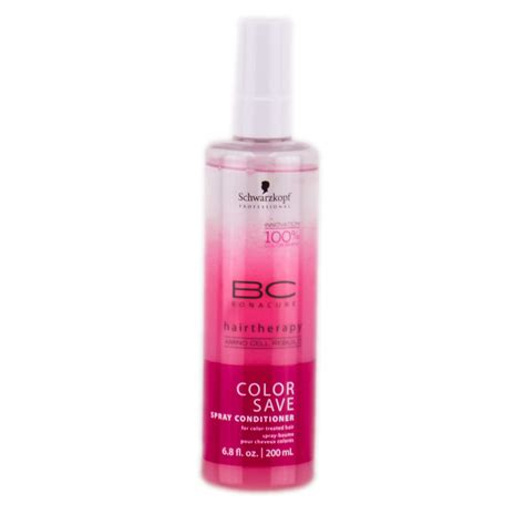 colorful bekitcha schwarzkopf spray conditioner bc pin schwarzkopf bc