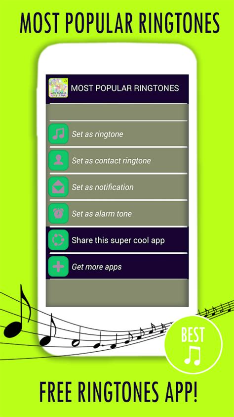 most best most popular ringtones android apps on google play