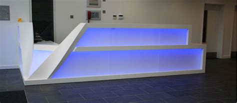 Sale Modern Design Solid Surface Acrylic Led Effect Solid Acrylic Surface Vertex Kitchens