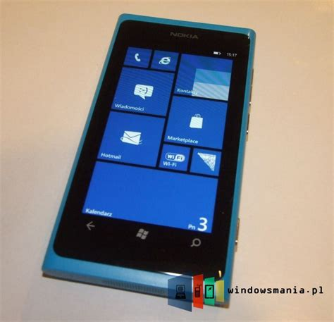 Nokia Lumia Windows 7 nokia lumia 800 seen running windows phone 7 8