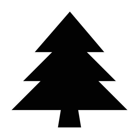 christmas tree text symbol evergreen icon free png and svg