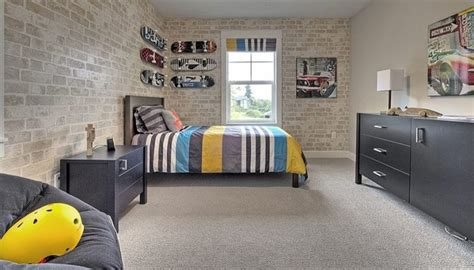 edgy brick walls ideas  kids rooms digsdigs