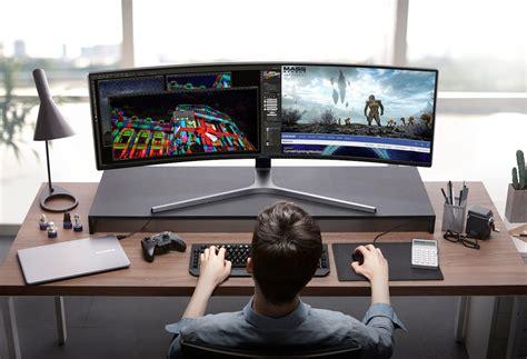 Samsung Qled Gaming samsung chg90 qled gaming monitor 187 gadget flow
