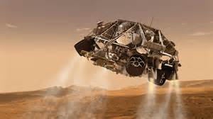 we are living in the future curiosity landing on mars