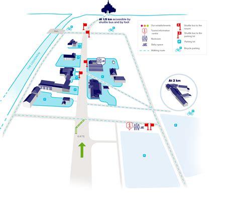 hotel map interactive interactive map les portes du mont michel