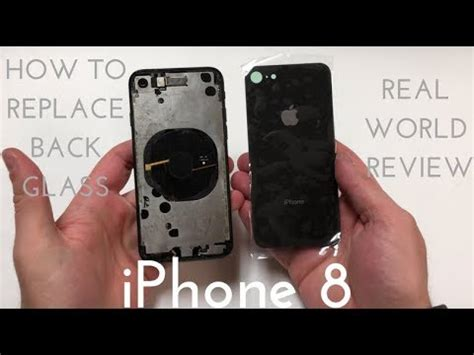 iphone glass repair iphone 8 back glass replacement how to fix the back for 15