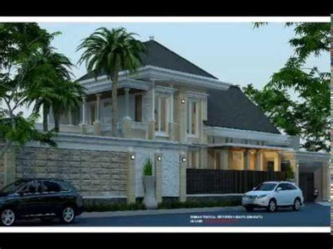 desain villa mewah  lantai  kolam renang youtube