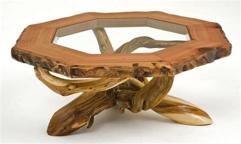 Juniper Coffee Table Rustic Coffee Table Log Furniture Unique Redwood Juniper