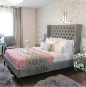 Pink And Gray Bedroom - lush fab glam blogazine pretty in pink home decor