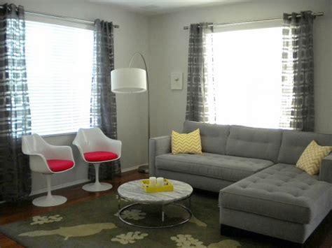 Grey Living Room Curtain Ideas | drapery ideas for the modern home