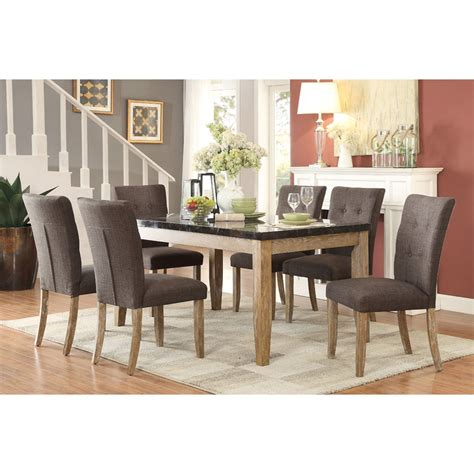 dining table nj berenice modern dining homelegance huron contemporary table and chair set with