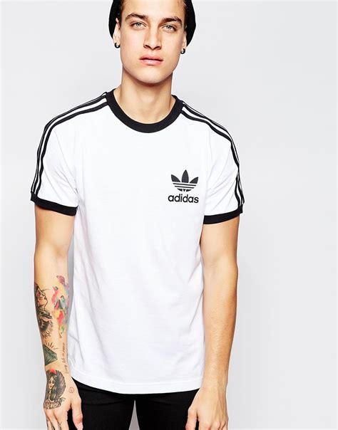 adidas originals california t shirt ab7602 in white for