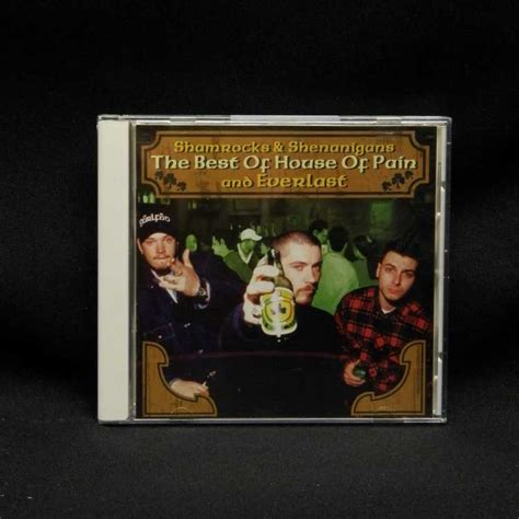 house of pain everlast used cd house of pain everlast shamrocks shenanigans the best of house of pain