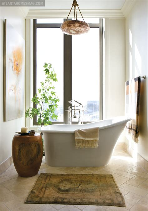 bathroom tub decorating ideas triangle re bath natural free standing tub bathroom