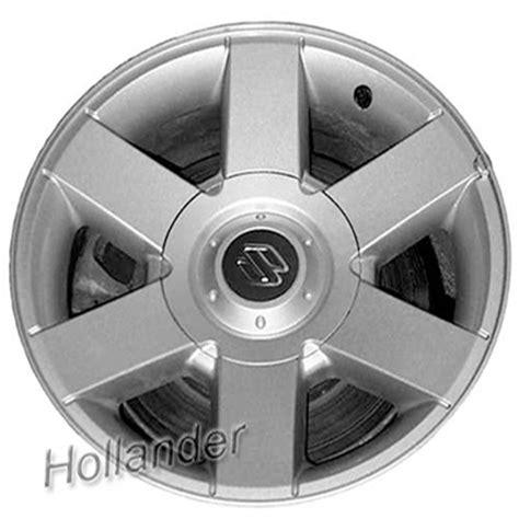 Suzuki Xl7 Tire Size 2001 2003 Suzuki Xl7 Wheels Sparkle Silver Rims 72675