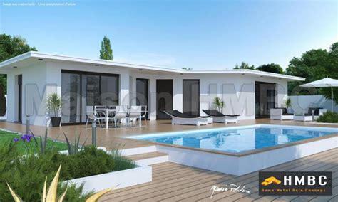Toit Maison Moderne by Maison Toit Plat Constructeur De Villa Toit Plat Hmbc