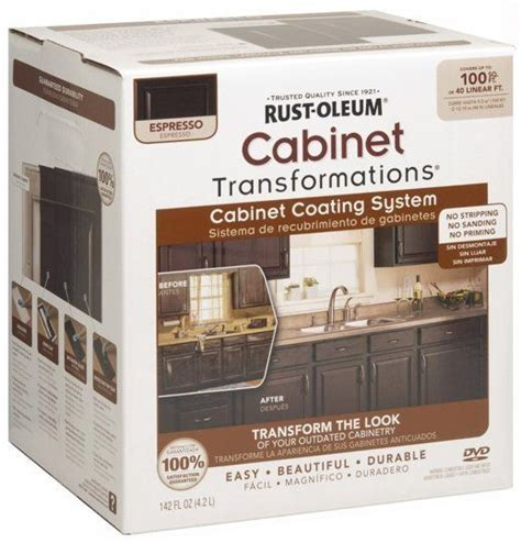 refinish kitchen cabinets kit rust oleum cabinet refinishing kit maxwell s daily find