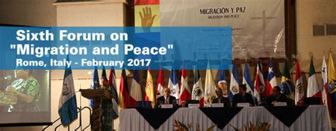 indeed lavoro pavia sixth international forum on migration and peace