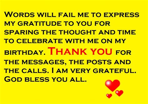 Thank You For The Birthday Wishes Quotes Thanks For The Birthday Wishes Notes And Quotes Cute